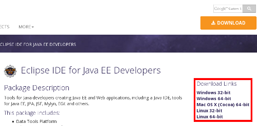 eclipse ide download for windows 64 bit